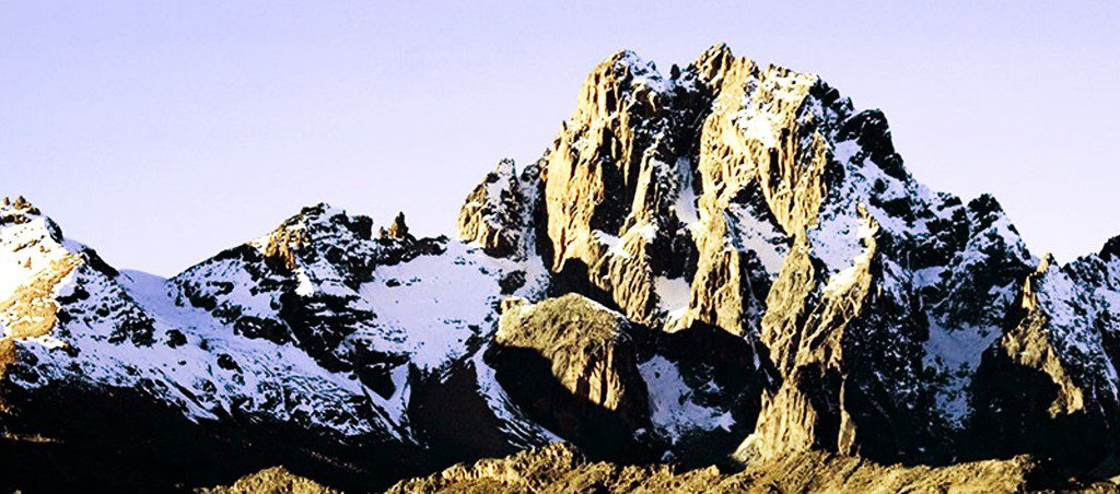 MOUNT KENYA SIRIMON TREK